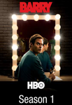 Barry Season 1 Vudu HDX Code (8 Episodes)