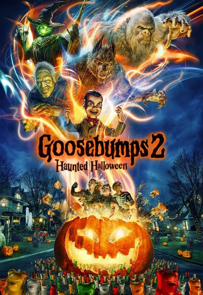 Goosebumps 2 Vudu SD or iTunes SD or Google Play SD or Movies Anywhere SD Code (SD iTunes & SD Google Play Transfer From Movies Anywhere) (THIS IS A STANDARD DEFINITION [SD] CODE)