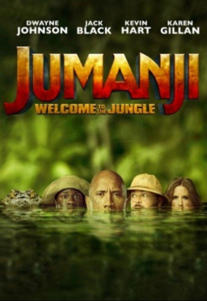 Jumanji: Welcome to the Jungle (2017) 4K Digital Code (Redeems in Movies Anywhere; UHD Vudu & 4K iTunes & 4K Google Play Transfer From Movies Anywhere)