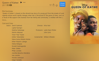 Queen of Katwe HD Digital Code (Redeems in Movies Anywhere; HDX Vudu & HD iTunes & HD Google Play Transfer From Movies Anywhere) (Full Code, No Disney Insiders Points)