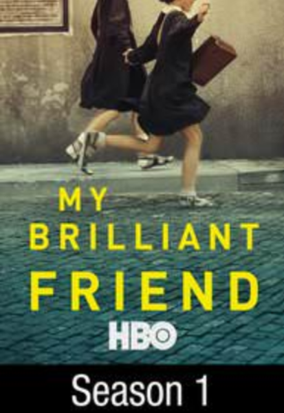 My Brilliant Friend Season 1 Google Play HD Digital Code (8 Episodes) (Foreign Language Series)