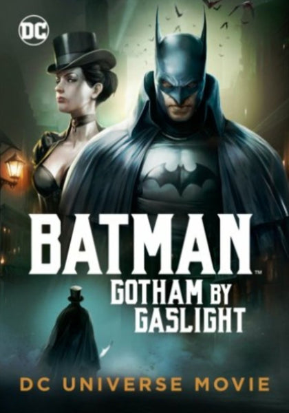 Batman: Gotham By Gaslight Vudu HDX or iTunes HD or Google Play HD or Movies Anywhere HD Code (HD iTunes & HD Google Play Transfer From Movies Anywhere)