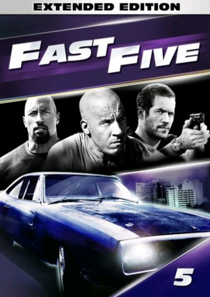 Fast Five (Extended Version) Vudu HDX or Google Play HD or Movies Anywhere HD Code (HD Google Play Transfers From Movies Anywhere)