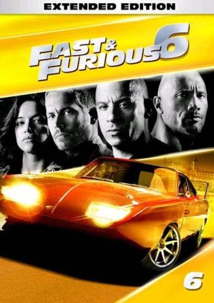 Fast & Furious 6 iTunes 4K Code (Extended Version) (Redeems in iTunes; UHD Vudu & 4K Google Play Transfer Across Movies Anywhere - SEE ITEM DESCRIPTION)