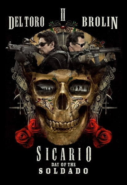 Sicario: Day Of The Soldado Vudu SD or iTunes SD or Google Play SD or Movies Anywhere SD Code (SD iTunes & SD Google Play Transfer From Movies Anywhere) (THIS IS A STANDARD DEFINITION [SD] CODE)