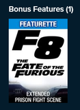 The Fate of the Furious HD Digital Codes (Redeems in Movies Anywhere; HDX Vudu & HD iTunes & HD Google Play Transfer Across Movies Anywhere) (Theatrical & Extended Versions) (2 Movies, 2 Codes)