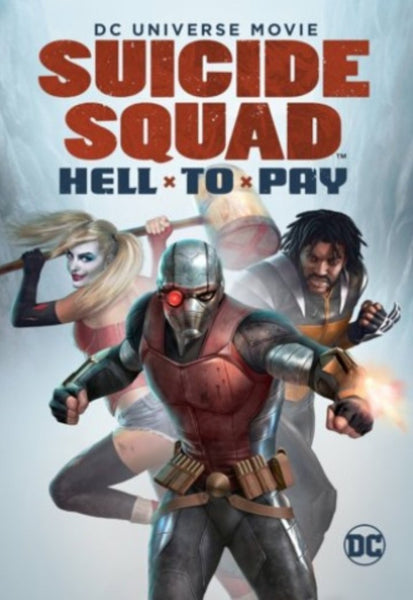 DCU: Suicide Squad: Hell To Pay Vudu HDX or iTunes HD or Google Play HD or Movies Anywhere HD Code (HD iTunes & HD Google Play Transfer From Movies Anywhere)