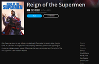 Reign Of The Supermen 4K Movies Anywhere or 4K iTunes Code (Redeems in Movies Anywhere; 4K iTunes Transfers From Movies Anywhere) (NO UHD VUDU OR 4K GOOGLE PLAY)