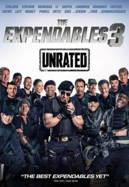 The Expendables 3 Vudu HDX or Google Play HD Digital Code (Unrated Version)