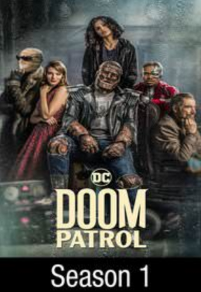 Doom Patrol Season 1 Vudu HDX Digital Code (15 Episodes)