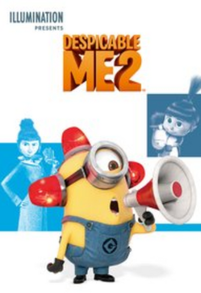 Despicable Me 2 iTunes 4K Code (Redeems in iTunes; UHD Vudu & 4K Google Play Transfer Across Movies Anywhere - SEE ITEM DESCRIPTION)