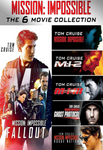 Mission Impossible Collection Vudu HDX Codes (6 Codes, 6 Movies)