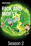 Rick and Morty Season 2 Vudu HDX Digital Code (10 Episodes)