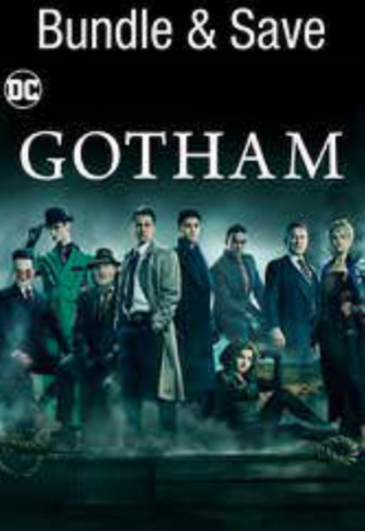 Gotham Complete Series Vudu HDX Codes (5 Seasons, 99 Episodes, 5 Codes)