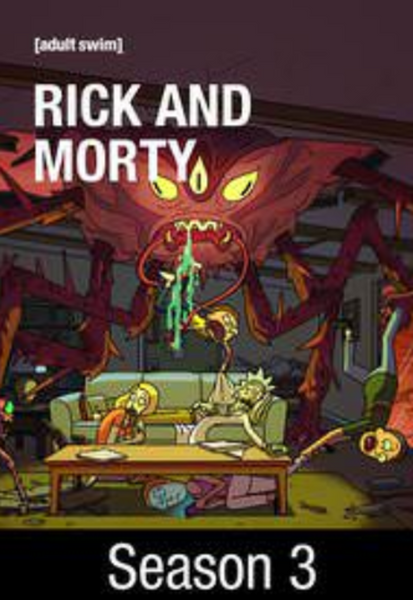Rick and Morty Season 3 Vudu HDX Digital Code (10 Episodes)
