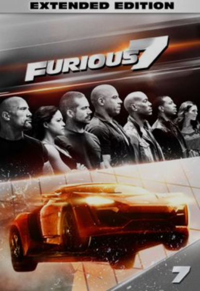 Furious 7 (Extended Version) HD Digital Code (Redeems in Movies Anywhere; HDX Vudu & HD iTunes & HD Google Play Transfer From Movies Anywhere)