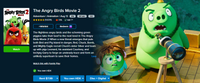 The Angry Birds 2-Movie Collection HD Digital Codes (Redeems in Movies Anywhere; HDX Vudu & HD iTunes & HD Google Play Transfer From Movies Anywhere) (2 Movies, 2 Codes)