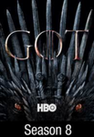 Game of Thrones Season 8 iTunes HD Digital Code (6 Episodes)