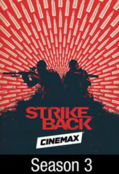 Strike Back Season 3 iTunes HD Digital Code (10 Episodes)