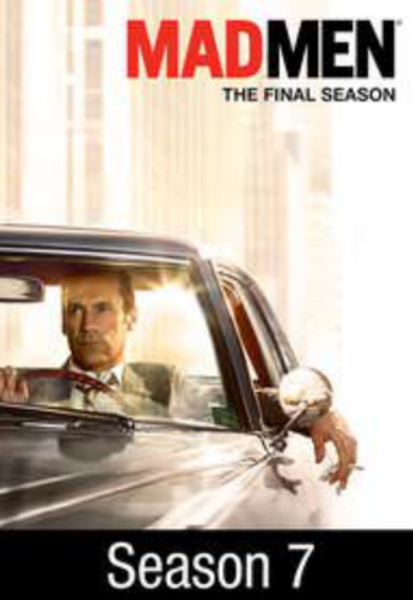 Mad Men Season 7 Part 2 Vudu HDX or Google Play HD Digital Code (7 Episodes;  Includes Episodes 8 through 14 of Season 7)