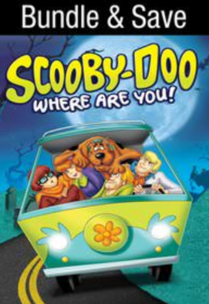 Scooby-Doo, Where Are You!: The Complete Series Vudu HDX Digital Code (41 Episodes, 3 Seasons, 1 Code)
