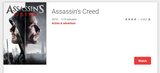 Assassin's Creed HD Digital Code (Redeems in Movies Anywhere; HDX Vudu & HD Google Play Transfer From Movies Anywhere)