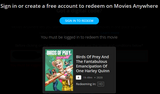 Birds of Prey (Theatrical Version) & Suicide Squad (Extended & Theatrical Versions) HD Digital Codes (Redeems in Movies Anywhere; HDX Vudu & HD iTunes & HD Google Play Transfer From Movies Anywhere) (2 Movies, 2 Codes)