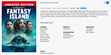 Blumhouse's Fantasy Island HD Digital Code (Redeems in Movies Anywhere; HDX Vudu & HD iTunes & HD Google Play Transfer From Movies Anywhere) (Unrated Edition)