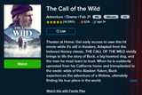 The Call of the Wild (2020) HD Digital Code (Redeems in Movies Anywhere; HDX Vudu & HD iTunes & HD Google Play Transfer From Movies Anywhere)