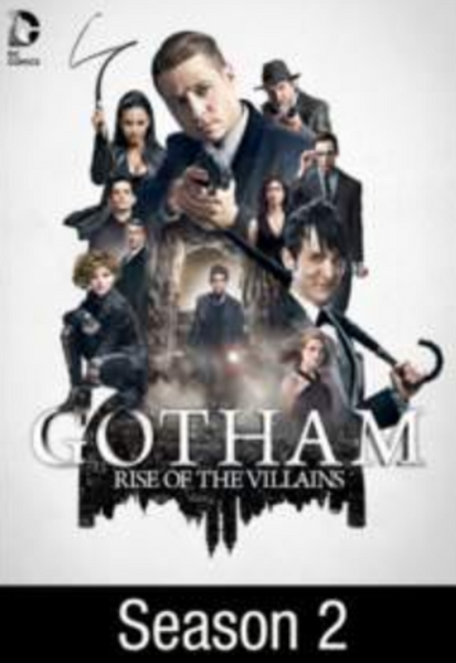 Gotham Season 2 Vudu HDX Digital Code (22 Episodes)