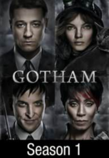 Gotham Season 1 Vudu HDX Digital Code (22 Episodes)