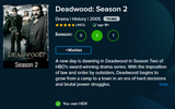 Deadwood Complete Series Vudu HDX Digital Code (36 Episodes, 3 Seasons, 1 Code)