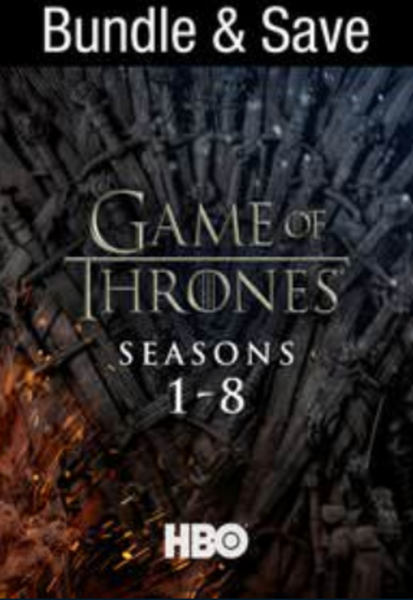 Game of Thrones: The Complete Series Vudu HDX Digital Code (73 Episodes, 8 Seasons, 1 Code)