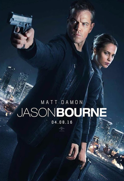 Jason Bourne iTunes 4K Code (Redeems in iTunes; UHD Vudu & 4K Google Play Transfer Across Movies Anywhere - SEE ITEM DESCRIPTION)