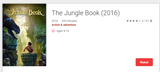 The Jungle Book (2016) HD Digital Code (Redeems in Movies Anywhere; HDX Vudu & HD iTunes & HD Google Play Transfer From Movies Anywhere) (Full Code, No Disney Insiders Points)