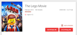The LEGO Movie (2014) 4K Digital Code (Redeems in Movies Anywhere; UHD Vudu & 4K iTunes & 4K Google Play Transfer From Movies Anywhere)