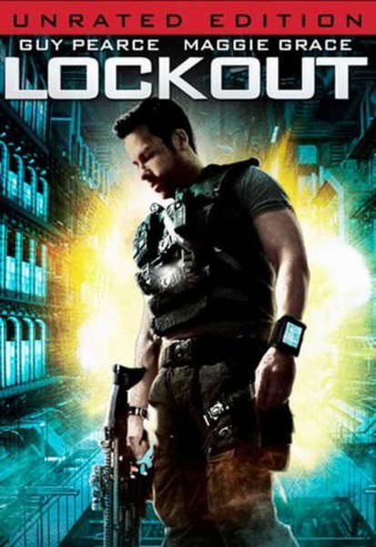 Lockout (Unrated) HD Digital Code (Redeems in Movies Anywhere; HDX Vudu & HD iTunes & HD Google Play Transfer From Movies Anywhere)