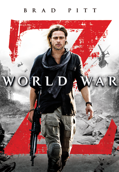 World War Z iTunes HD Digital Code (Theatrical Version)