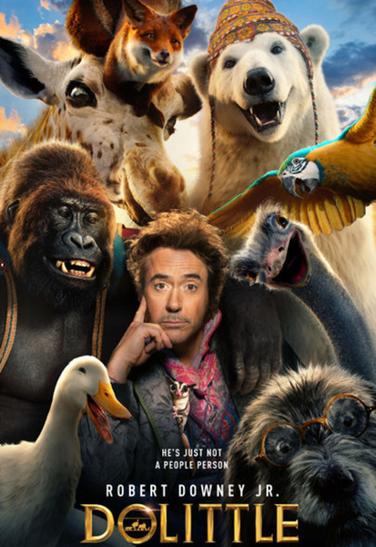 Dolittle (2020) HD Digital Code (Redeems in Movies Anywhere; HDX Vudu & HD iTunes & HD Google Play Transfer From Movies Anywhere)