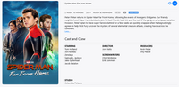 Spider-Man: Far From Home HD Digital Code (Redeems in Movies Anywhere; HDX Vudu & HD iTunes & HD Google Play Transfer From Movies Anywhere)