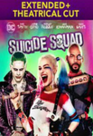 Suicide Squad Extended + Theatrical Cut HD Digital Code (Redeems in Movies Anywhere; HDX Vudu & HD iTunes & HD Google Play Transfers From Movies Anywhere) (2 Movies, 1 Code)