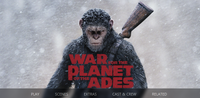 War For The Planet of the Apes iTunes 4K or Vudu HDX or Google Play HD or Movies Anywhere HD Digital Code