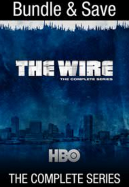 The Wire: The Complete Series Google Play HD Digital Code (60 Episodes, 5 Seasons, 1 Code)