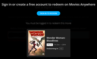 Wonder Woman: Bloodlines HD Digital Code (Redeems in Movies Anywhere; HDX Vudu & HD iTunes & HD Google Play Transfer From Movies Anywhere)
