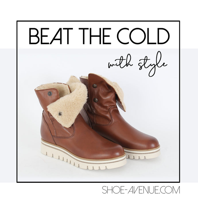 Furry Boots To Beat The Cold With