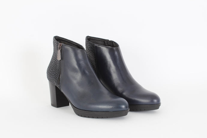 BARMINTON Zip-up ankle boots