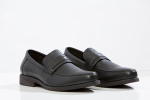 MARCO F. leather loafers