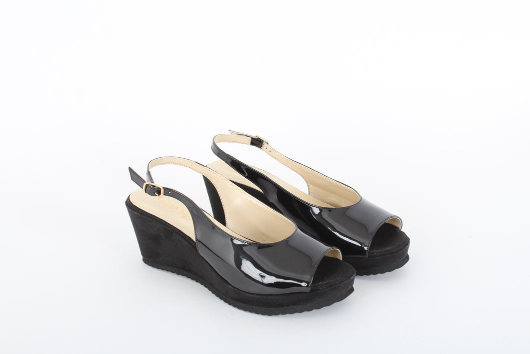 CINZIA SOFT Low wedge sandals