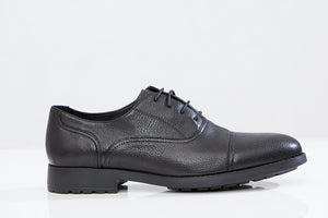 MARIO C. leather oxford shoes