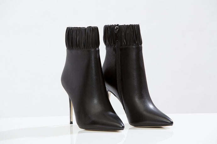 CANAPE  leather Ankle boots